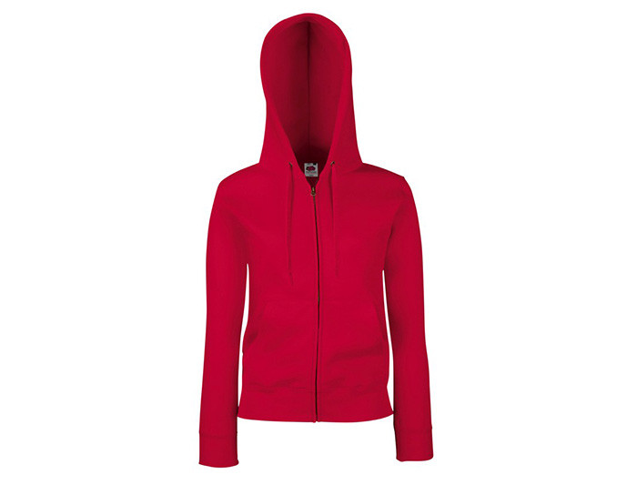 Lady Fit Hooded Sweat Jacket