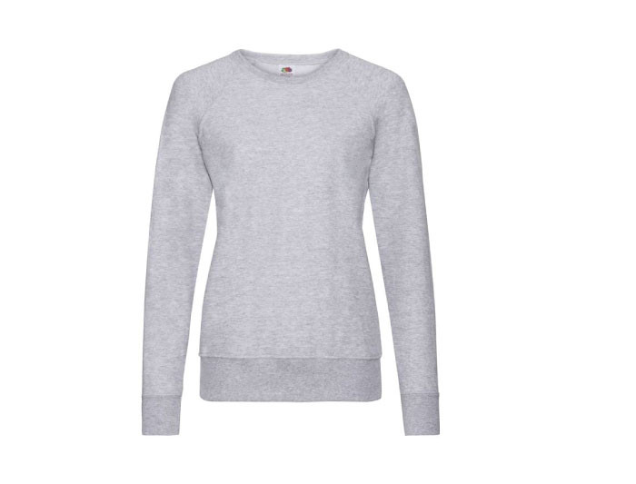 Lady-Fit Lightweight Raglan Sweater