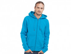 Mens Sweater Hood Zip