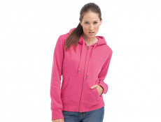 Womens Sweater Hood Zip